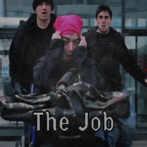 "Film poster for Comedy Short film ""The Job"""